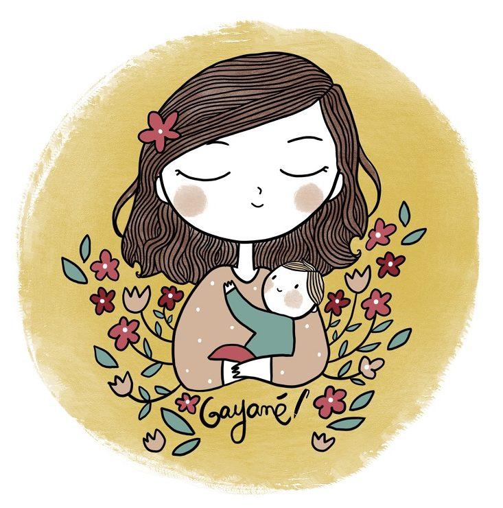 Gayané Adourian, narratrice et fleuriste en freelance